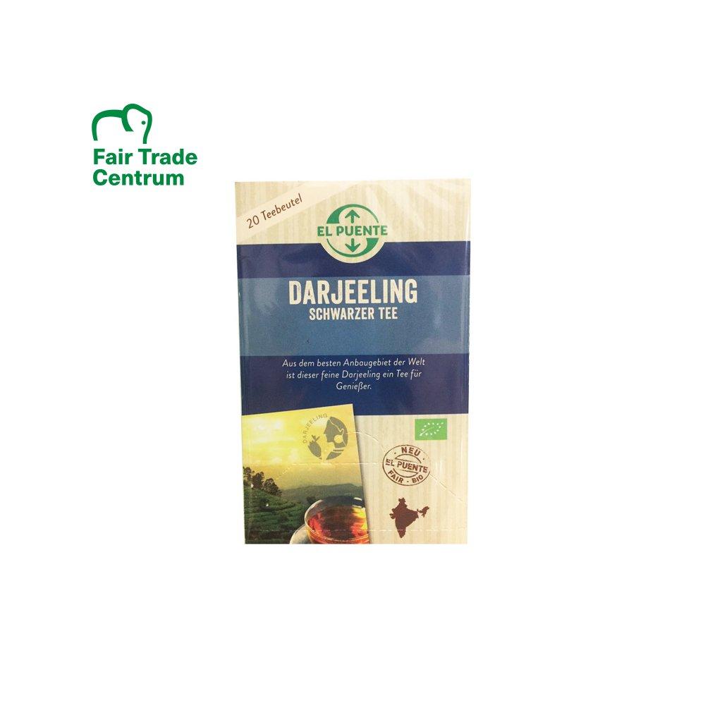 Bio černý čaj Darjeeling, porcovaný 20x1,8 g