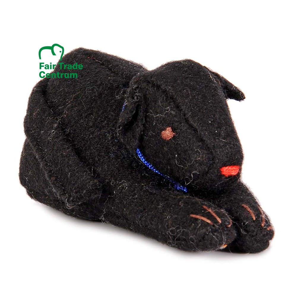 Fair trade tibetský pes dolls4tibet černý