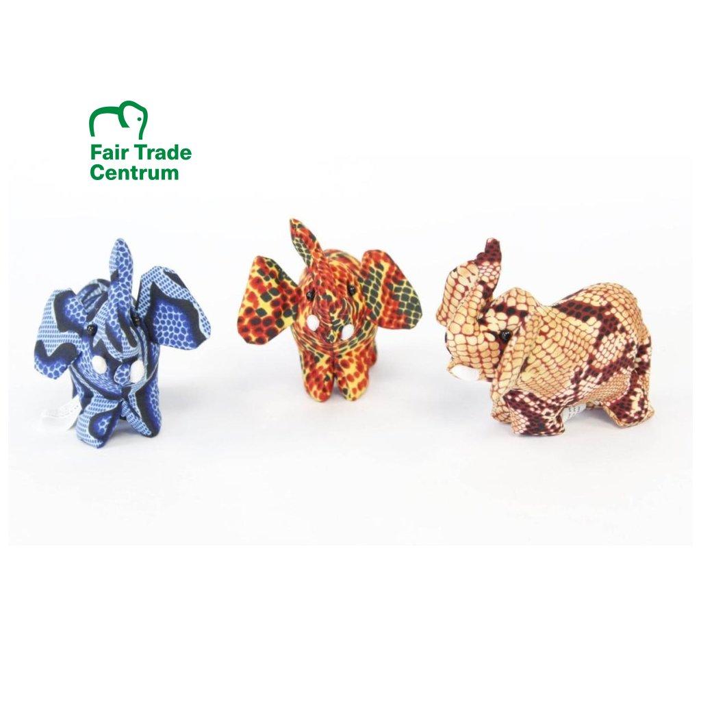 Fair trade pískový slon hračka z Thajska