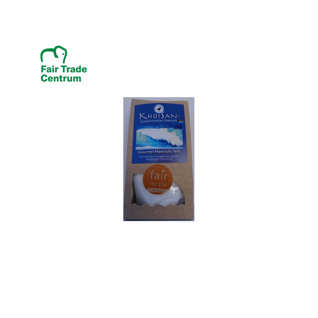 Mořská sůl jemná z JAR, 150 g