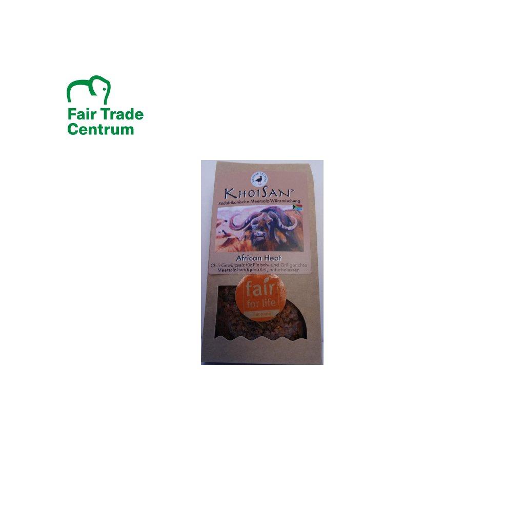 Mořská bylinná sůl Africký žár hrubá, 125 g