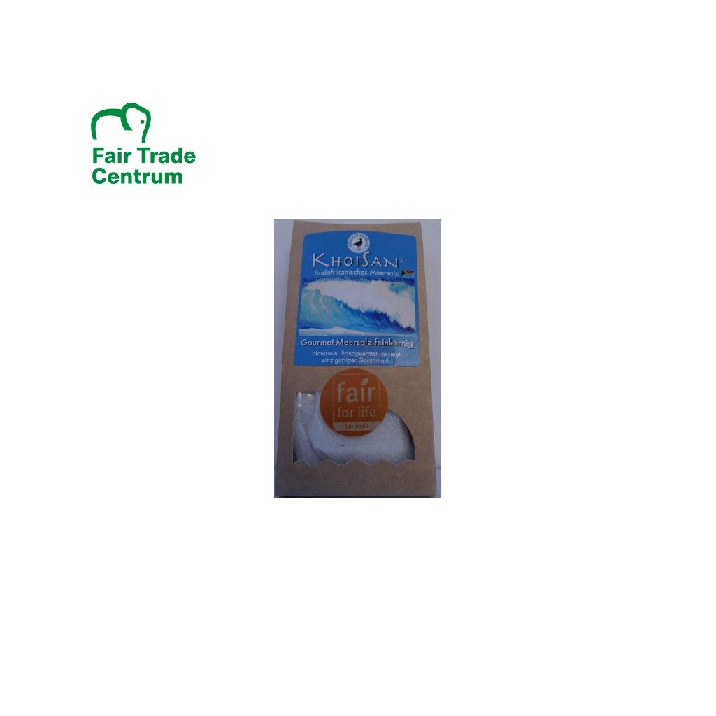 Mořská sůl KhoiSan z JAR polohrubá, 150 g