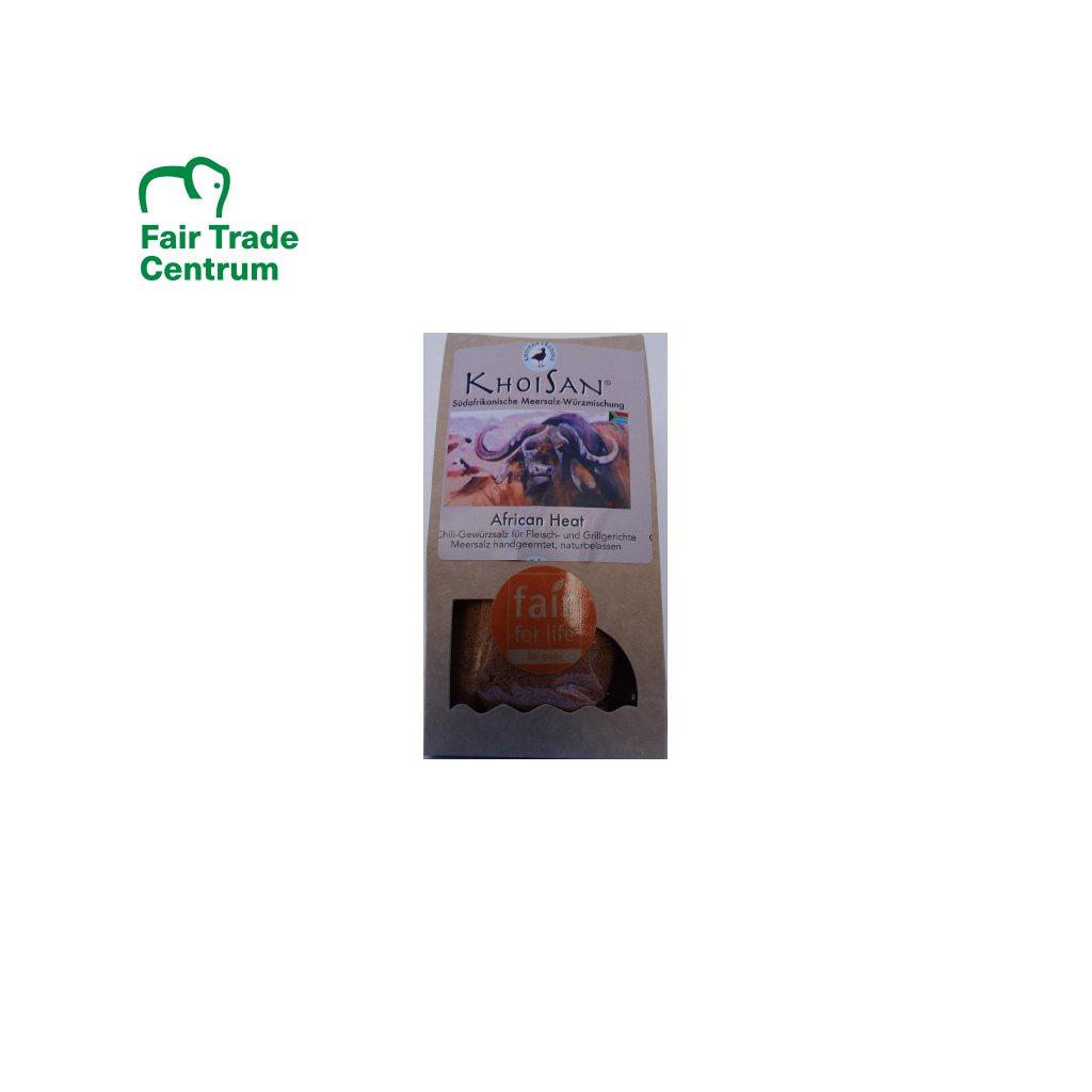 Mořská bylinná sůl Africký žár jemná, 125 g