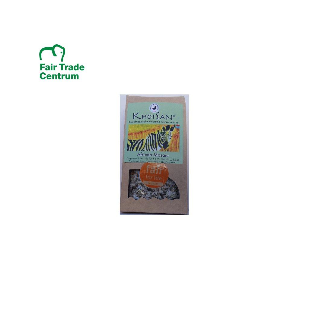 Mořská bylinná sůl Africká mozaika polohrubá, 125 g