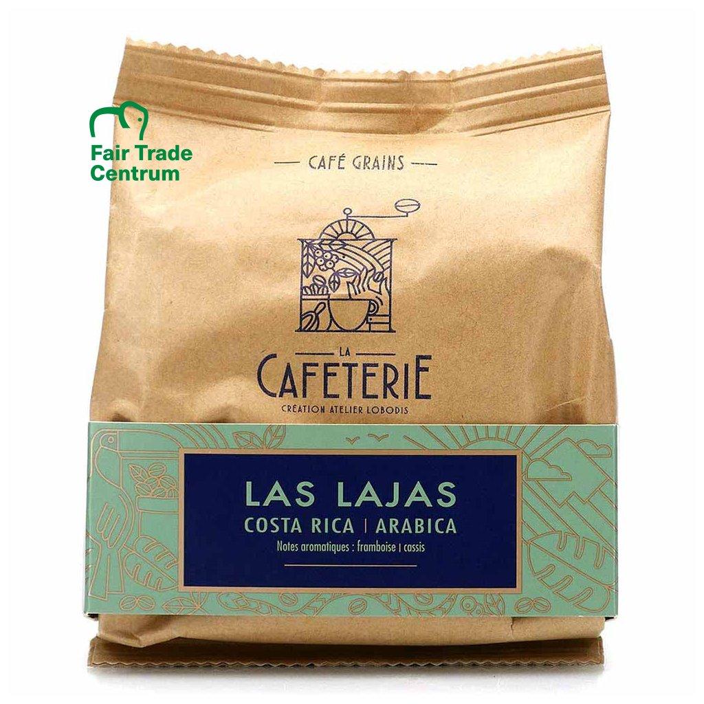 Fair trade zrnková výběrová káva Las Lajas z Kostariky, mikrolot