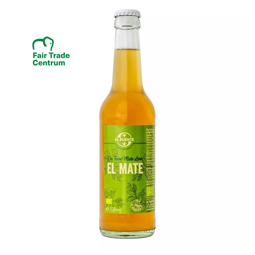 Fair trade bio limonáda El Maté, 330 ml