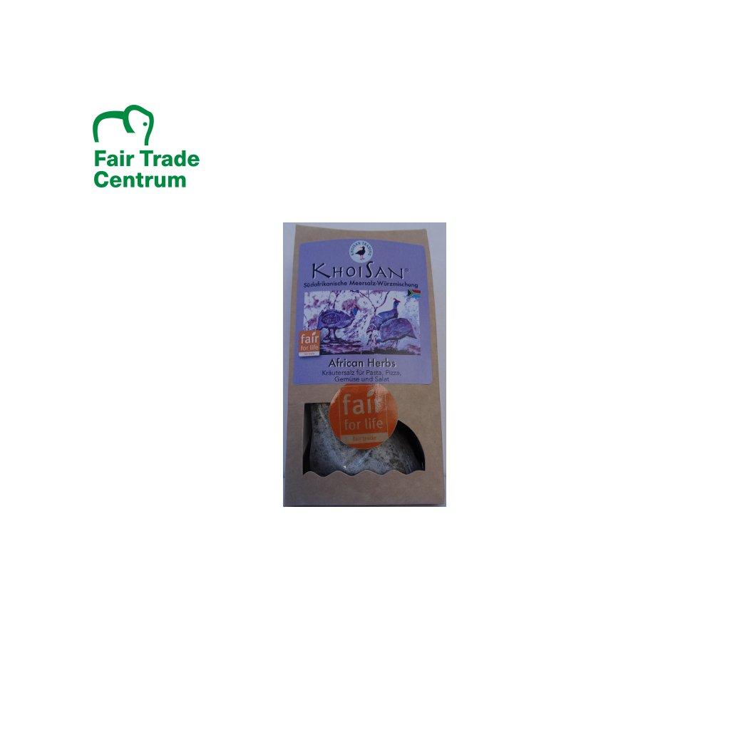 Mořská bylinná sůl Africké bylinky jemná, 125 g
