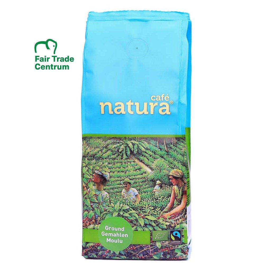 Fair trade bio mletá káva Natura, 250 g