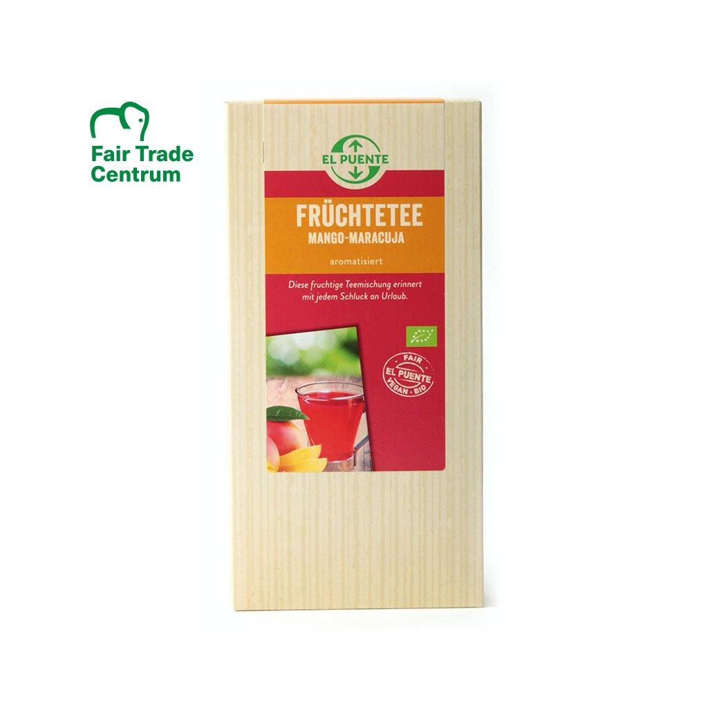 Fair trade bio ovocný sypaný čaj s mangem a ananasem