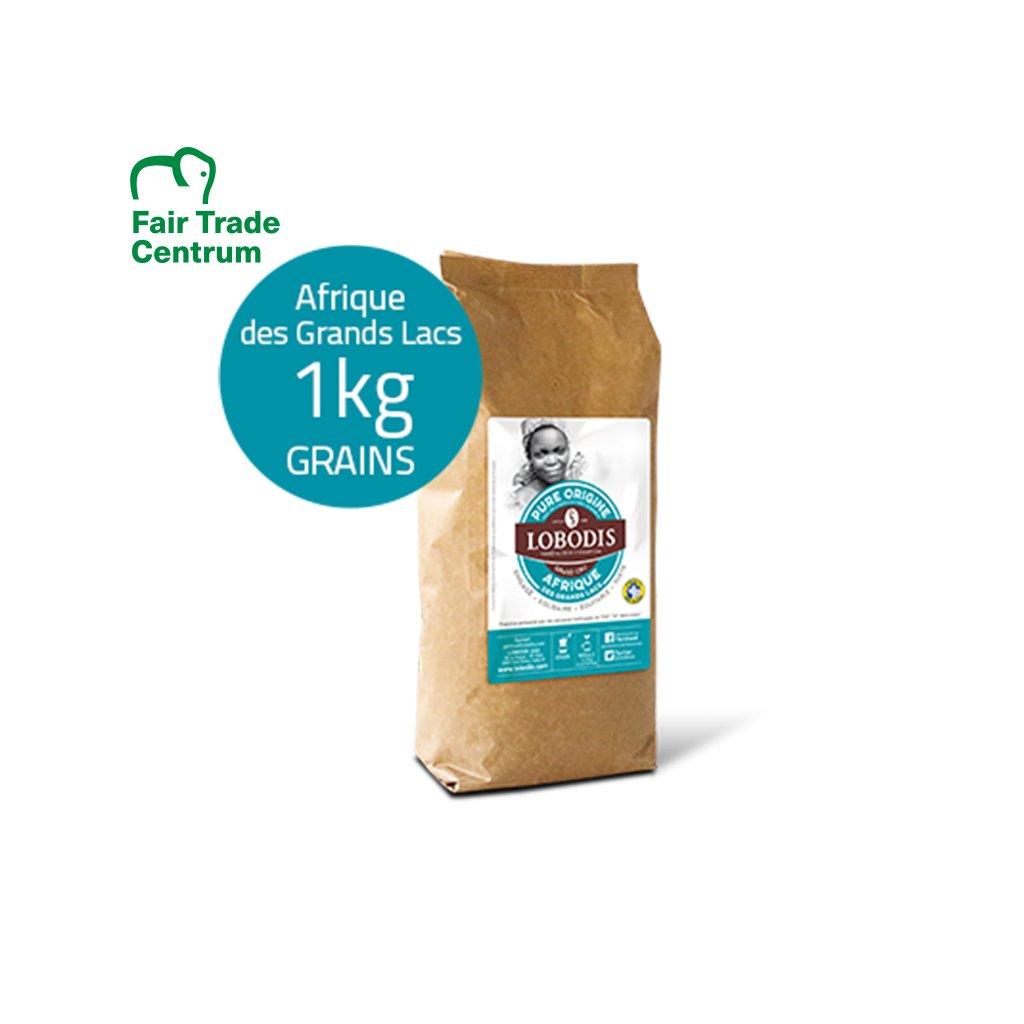 Zrnková káva z Afriky, 1000 g