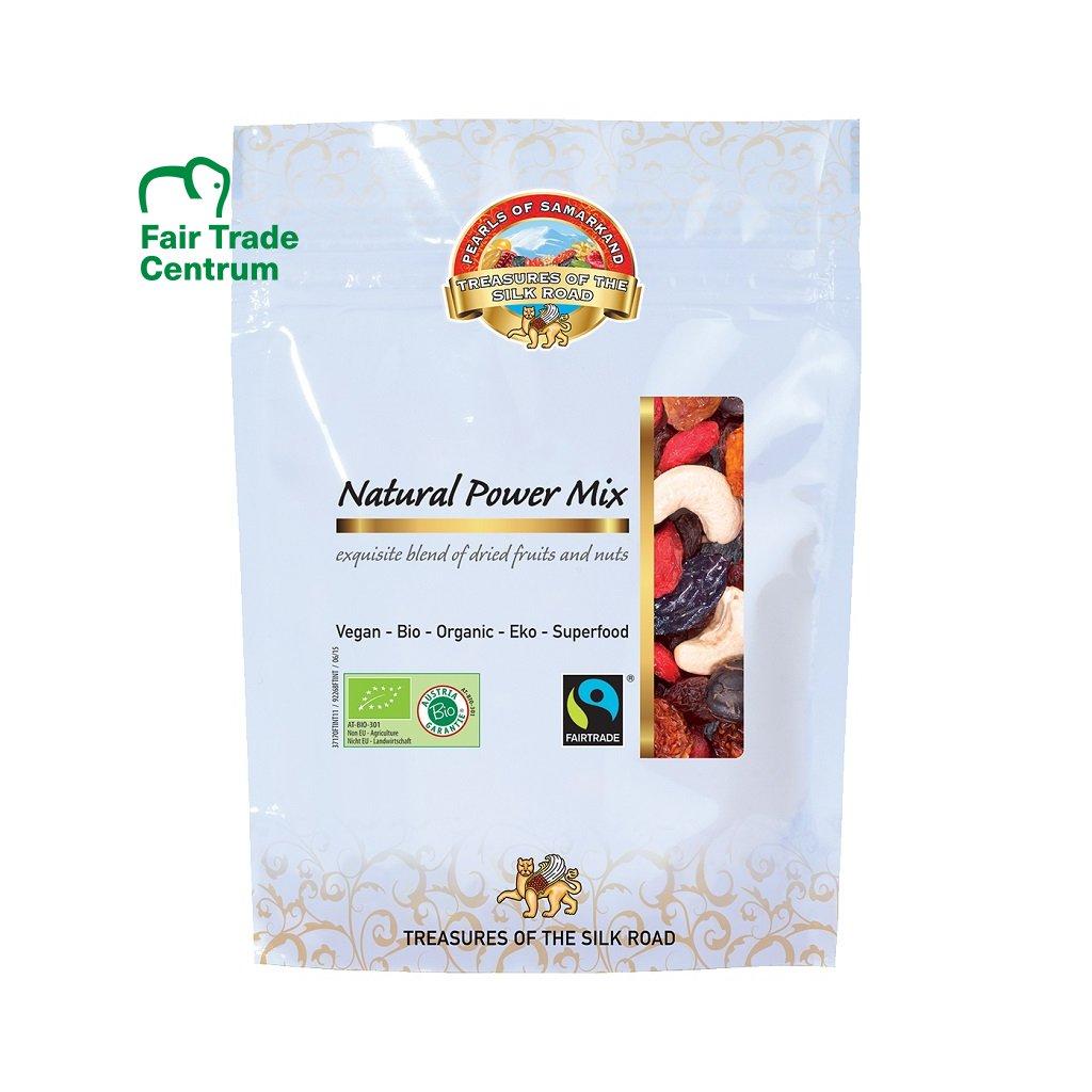 Fairtrade bio směs ořechů a ovoce Přírodní energie, 100 g