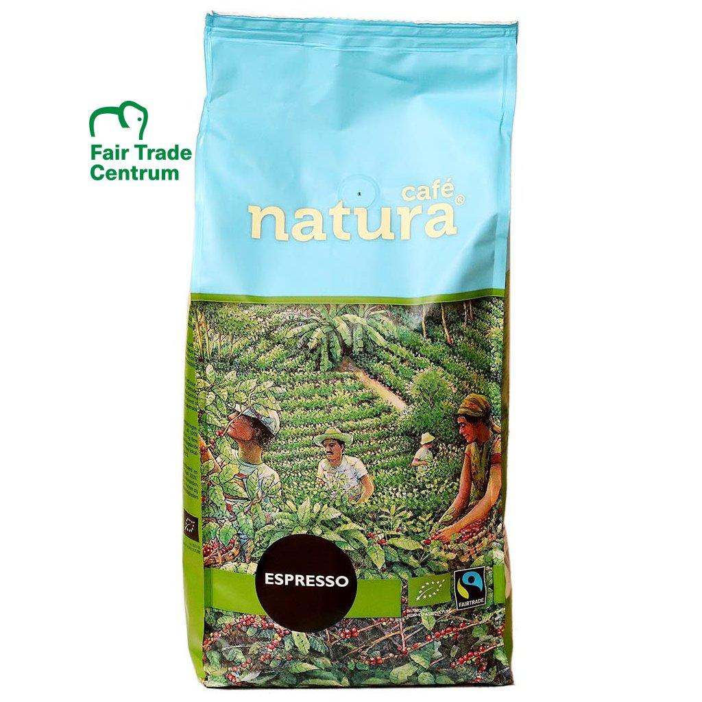 Fair trade bio zrnková káva Natura Espresso 1000 g
