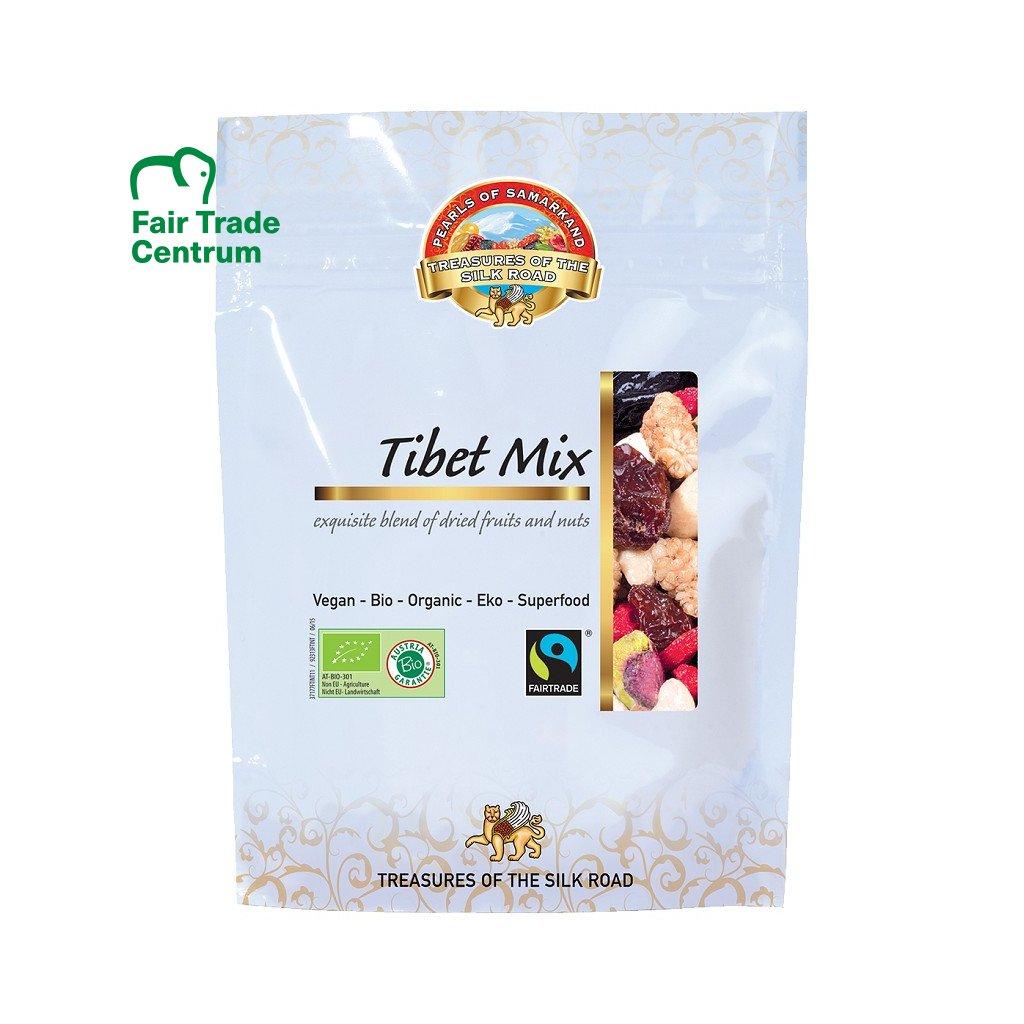 Fairtrade bio směs ořechů a ovoce Tibetský mix, 100 g
