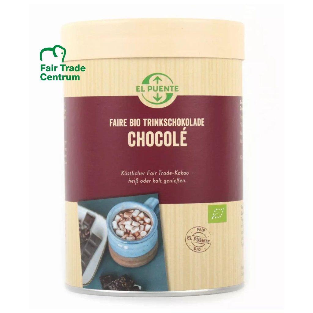 Fair trade bio instantní kakao Chocolé 32%, 350 g