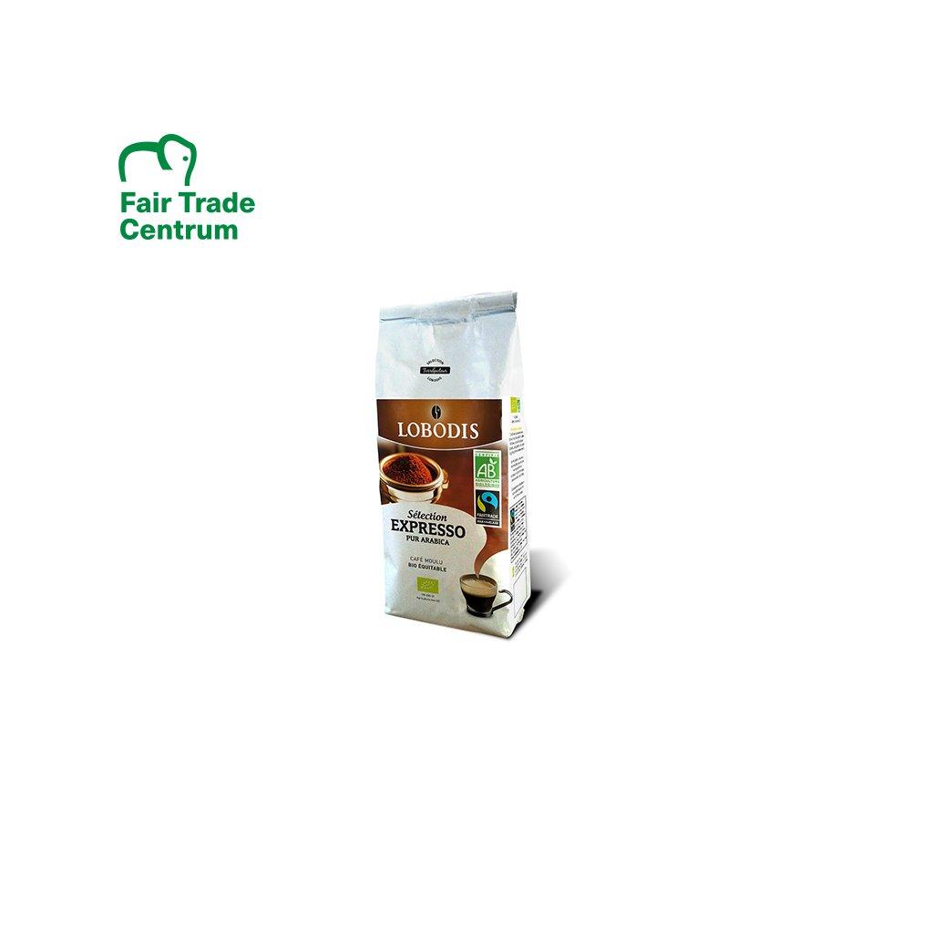 Bio mletá výběrová káva Espresso, 250 g