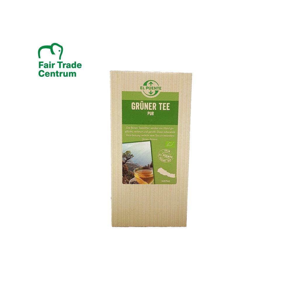 Bio sypaný zelený čaj z Nepálu, 100 g