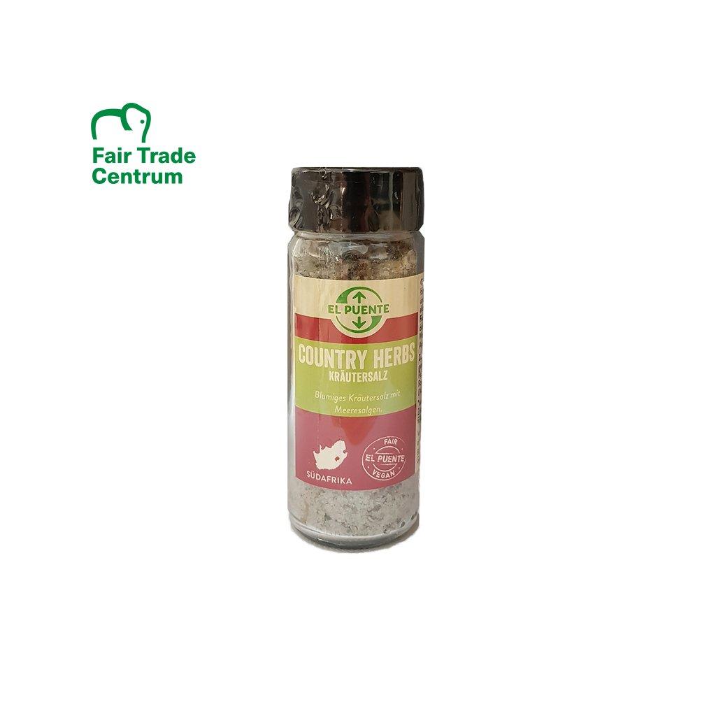 Solnička mořská bylinná sůl Venkov, 115 g