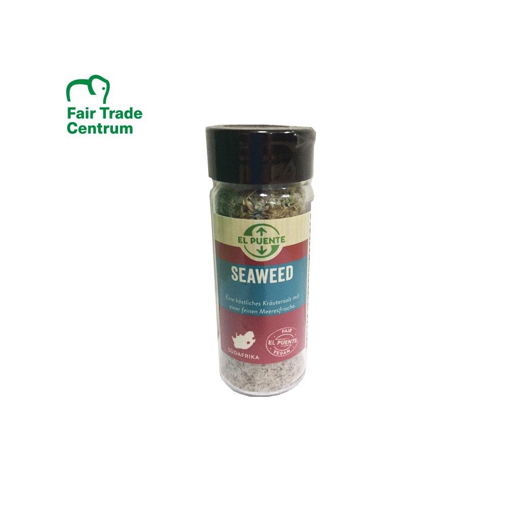 Solnička mořská bylinná sůl Mořské řasy, 110 g