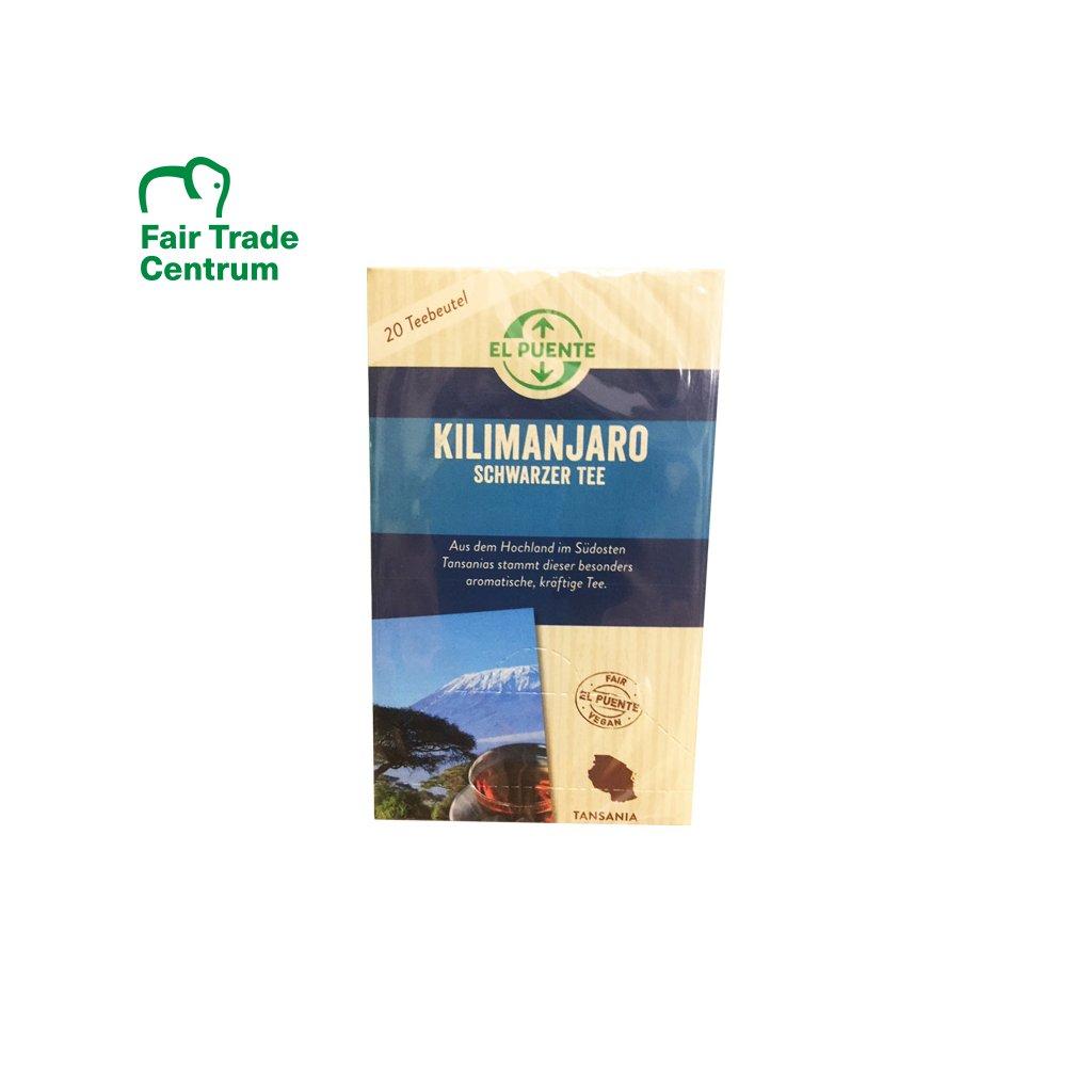 Černý čaj Kilimanjaro, porcovaný 20 x 2 g