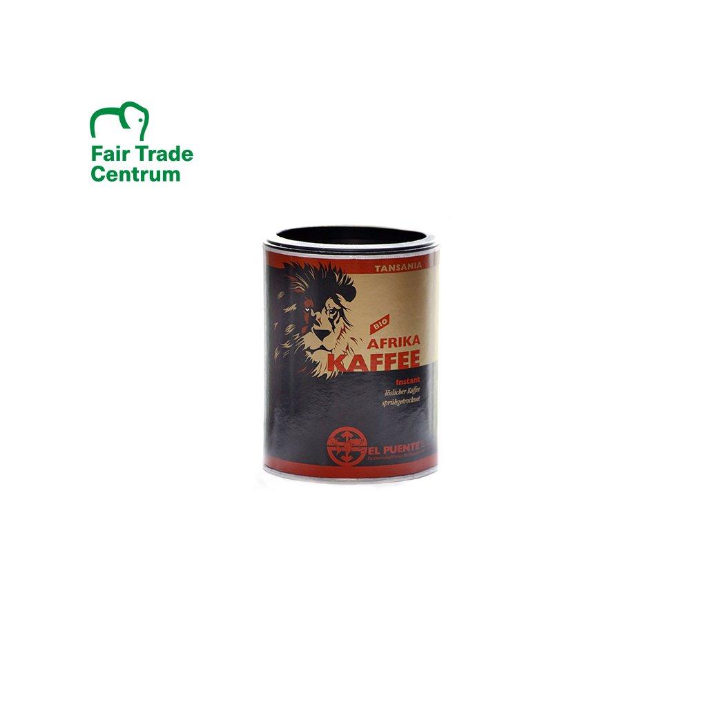 Bio instantní káva Tanzanie, 200 g