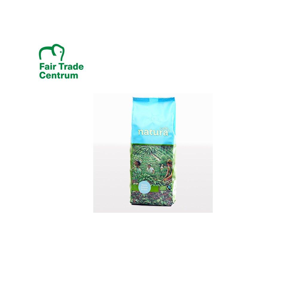 Bio zrnková káva Natura, 500 g