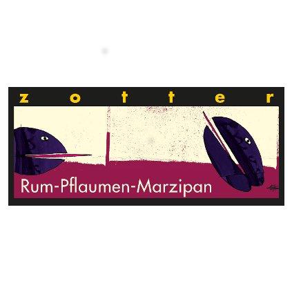 Bio Rum - švestky - marcipán