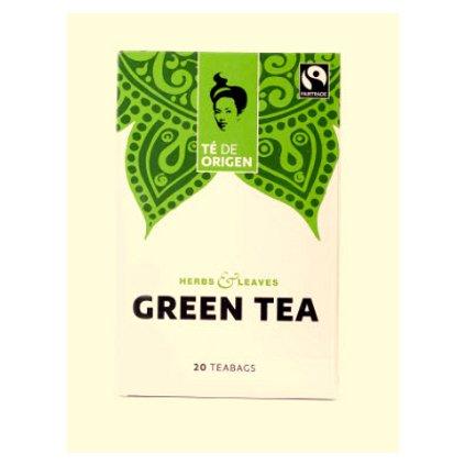 Bio zelený čaj ze Šrí Lanky, porcovaný 20x2 g