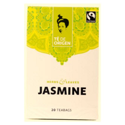 Bio Té de Origen - zelený čaj jasmínový