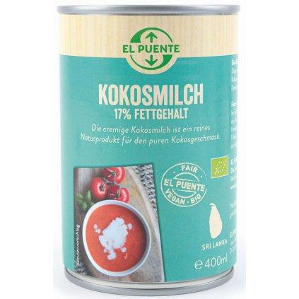 fair trade bio kokosove mleko