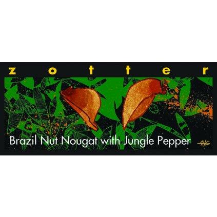 Fair Trade bio mléčná čokoláda Zotter Para ořechy s pralesním pepřem