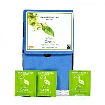 Fairtrade bio zelený čaj Darjeeling Hampstead