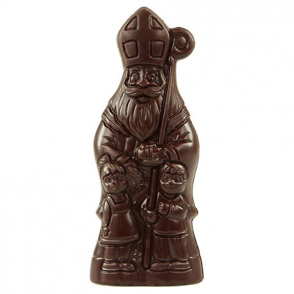 Fair trade bio mikuláš z hořké čokolády, 70 % kakaa, 55 g