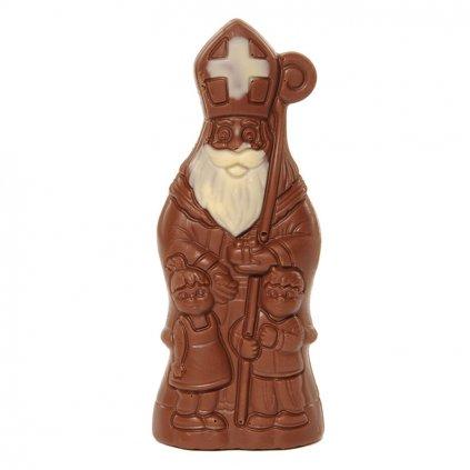 Fairtrade bio mikuláš z mléčné čokolády, 50 g