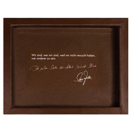 Dárková krabička Zotter na 3 čokolády, hnědá