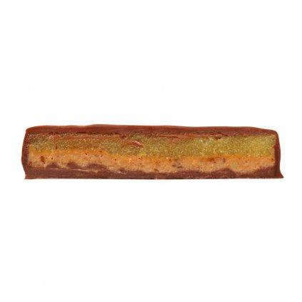 Fair trade bio mléčná čokoláda Zotter Veselé Vánoce ručně plněná