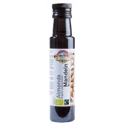 Fairtrade bio mandlový olej lisovaný za studena, 100 ml