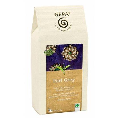 Fair Trade bio sypaný černý čaj Earl Grey