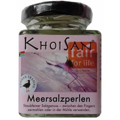 Fair Trade mořské perly soli KhoiSan