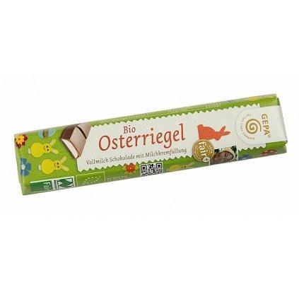Fair Trade bio velikonoční čokoládová tyčinka, 37,5 g