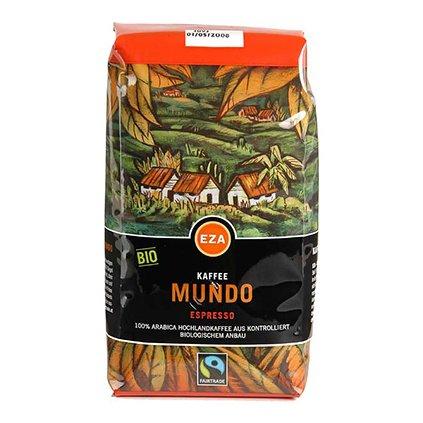 Bio zrnková káva Mundo espresso, 500 g