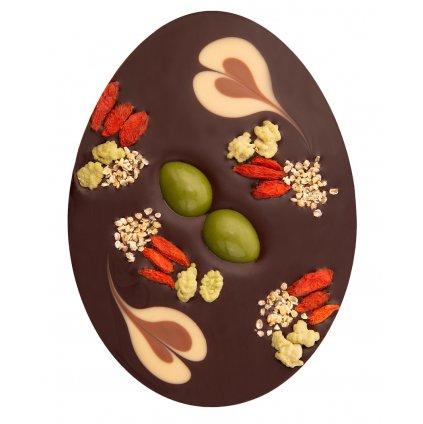 Fair Trade Bio velikonoční vajíčko z hořké čokolády