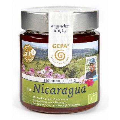 Fair Trade květový med tekutý z Nikaraguy, 500 g