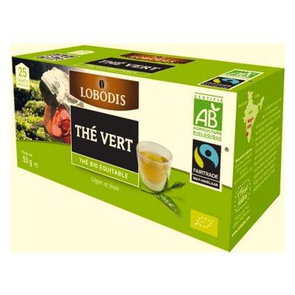Bio indický zelený čaj, porcovaný 25x2 g