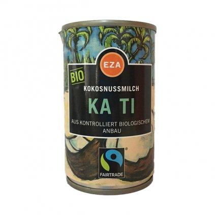 Bio kokosové mléko z Thajska, zahuštěné, 160 ml
