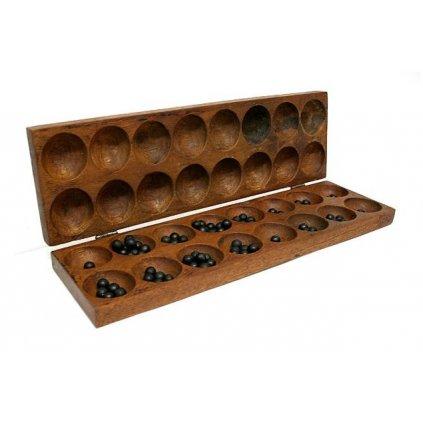 Fair trade africká stolní hra Bao z Ugandy