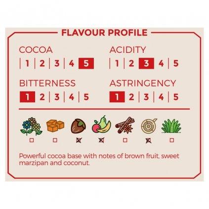 Bio nepražené kakaové boby celé, 100 g
