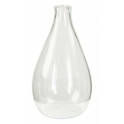 Fair trade váza foukaná z recyklovaného skla z Egypta