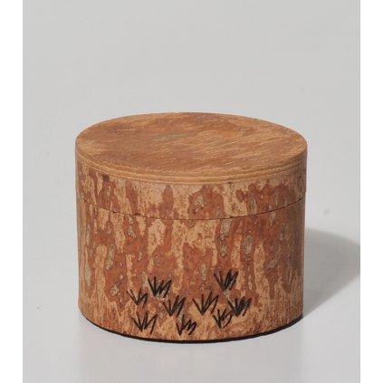 Dóza ze skořicového dřeva z Vietnamu, 7 cm
