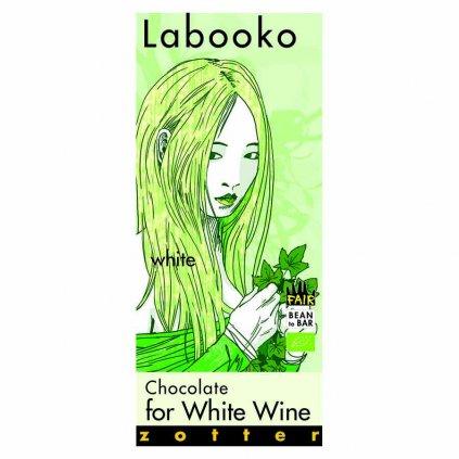 Fair trade bio bílá čokoláda Zotter k bílému vínu