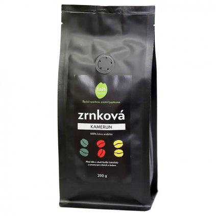 Fair trade zrnková káva Kamerun, 250 g